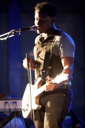 John leading music