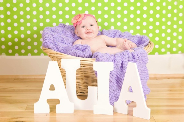 Alia in basket